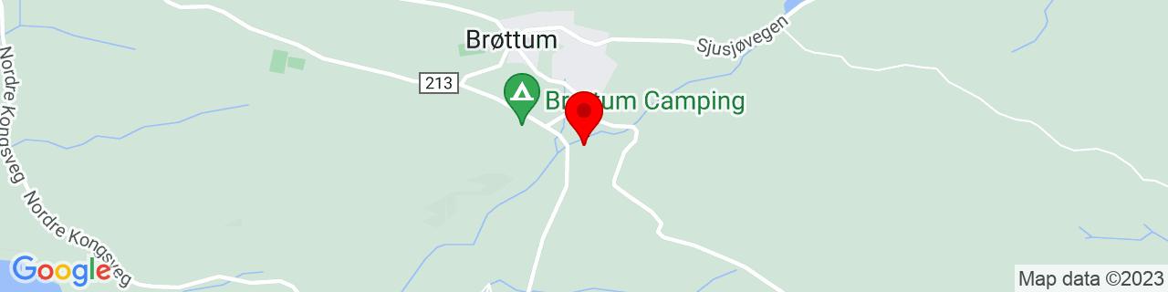 Google Map of 61.02370926979778, 10.559921264648438