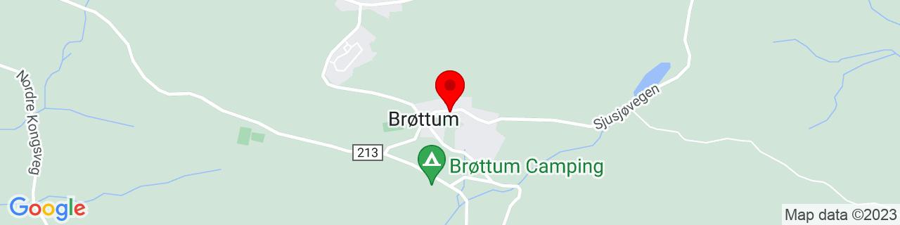 Google Map of 61.028947977227496, 10.556337833404541