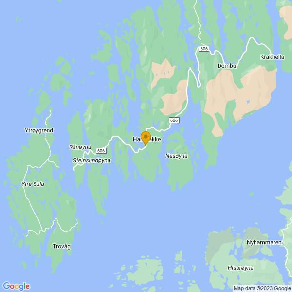 Google Map of 61.06935008474534,4.839167285241706