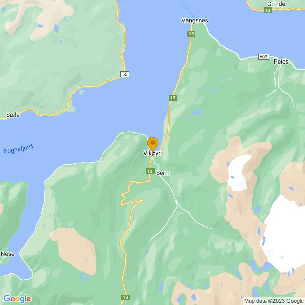 Google Map of 61.08875854284226,6.580320338820251
