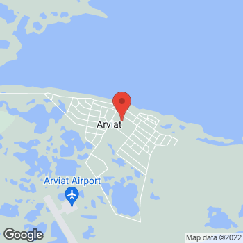 Map of Tim Hortons at Arviat C-store, Arviat, NU X0C 0E0
