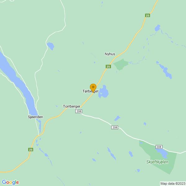 Google Map of 61.1330969,12.1110663