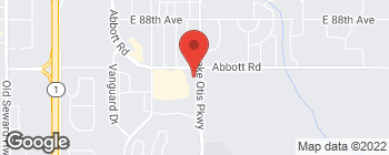 Map of 9220 Lake Otis Pkwy in Anchorage