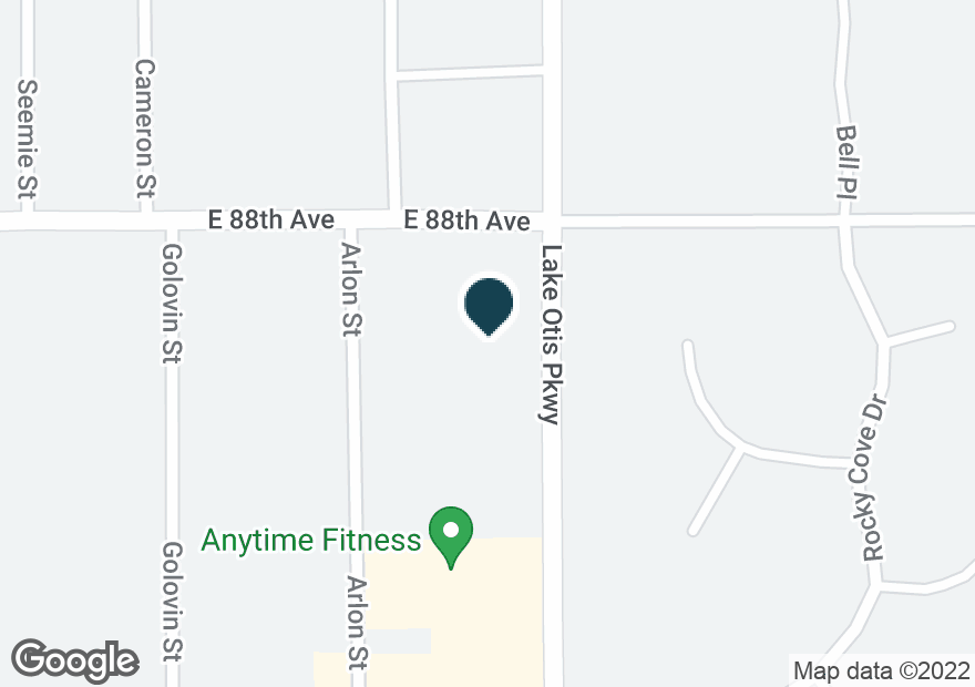 Google Map of2550 E 88TH AVE