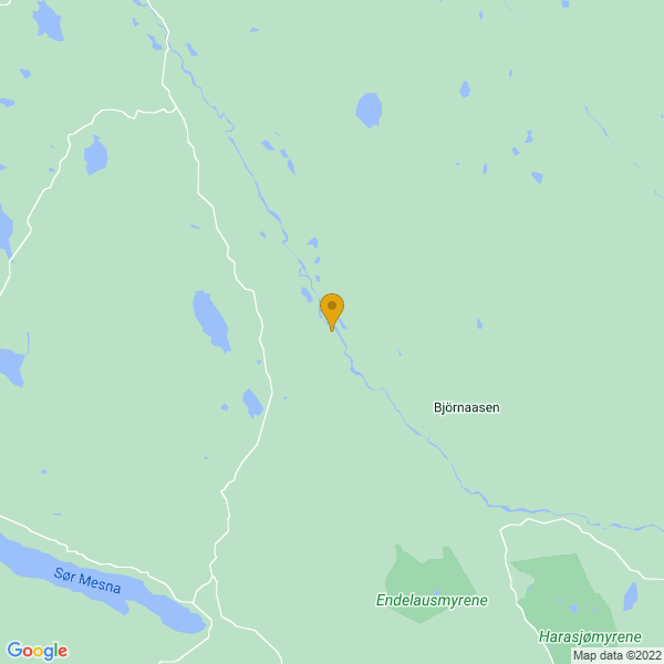 Google Map of 61.155715947970776,10.916411444397