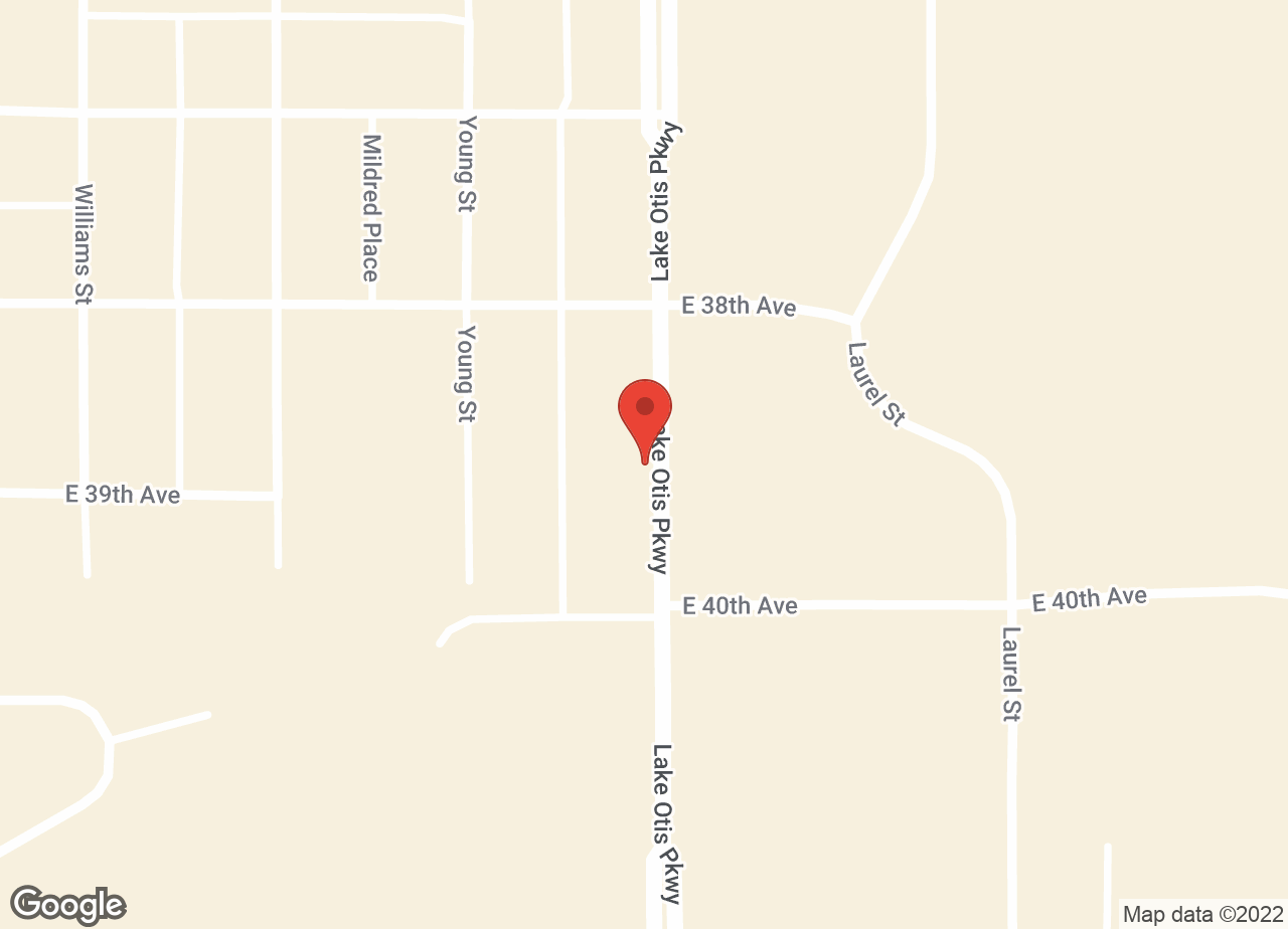 Google Map of VCA Alaska Pet Care Animal Hospital