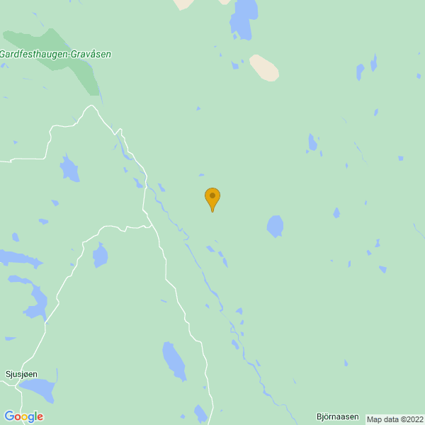 Google Map of 61.228516015842686,10.878841933837888