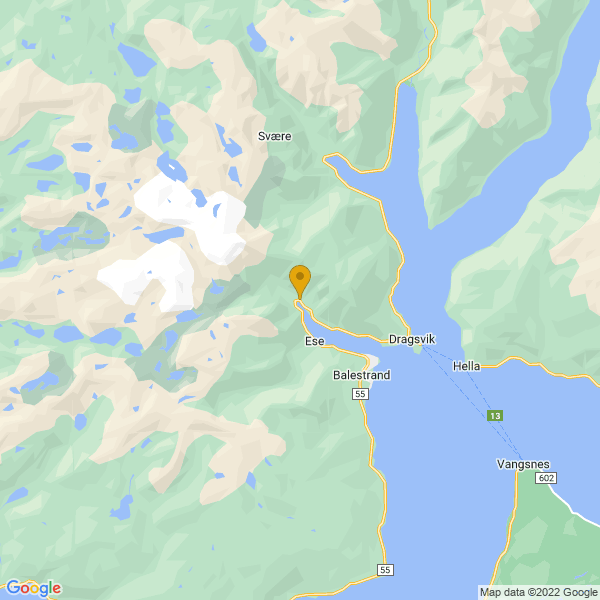 Google Map of 61.22925849491105,6.483714580535889