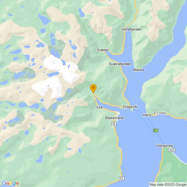 Google Map of 61.23031719999999,6.4803246