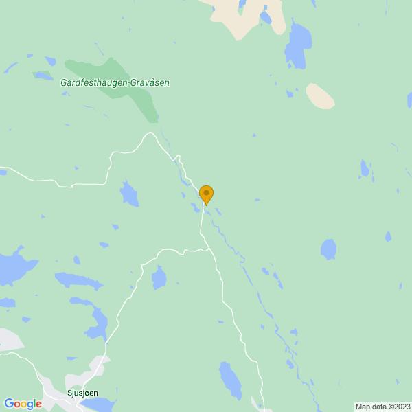 Google Map of 61.24302580000001,10.8170251