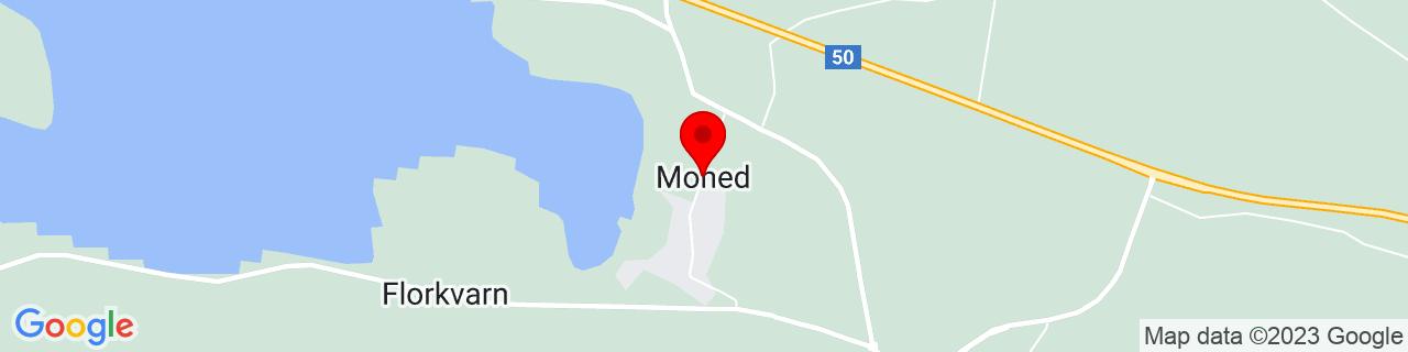 Google Map of 61.2924711, 16.828910800000017