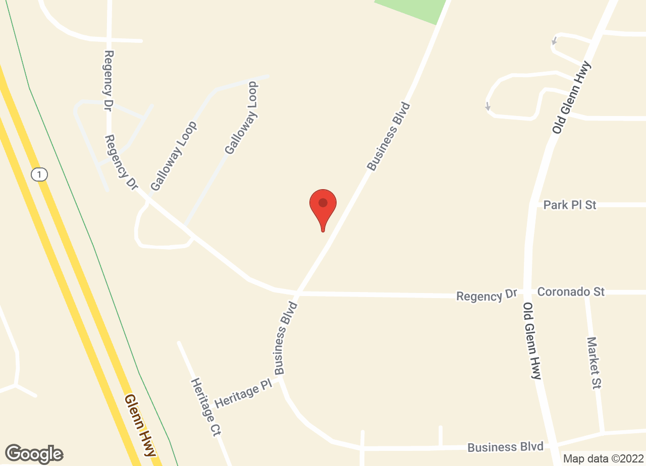 Google Map of VCA Eagle River Animal Hospital