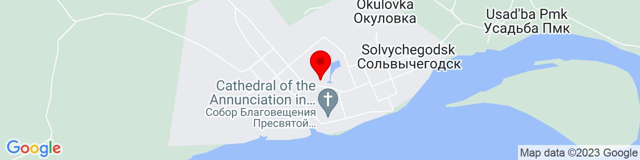 Google Map of 61.33121000000001, 46.92011100000002