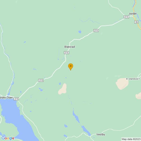Google Map of 61.3390292,11.9575392