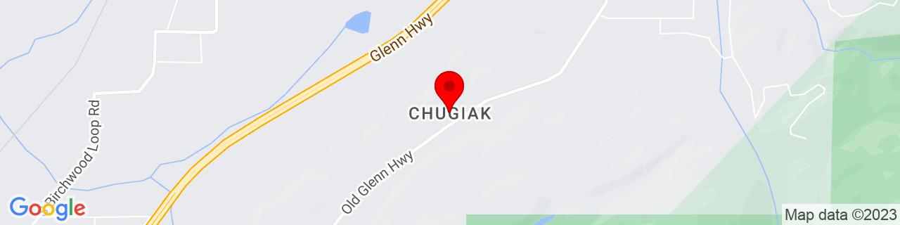 Google Map of 61.388888888888886, -149.48194444444445