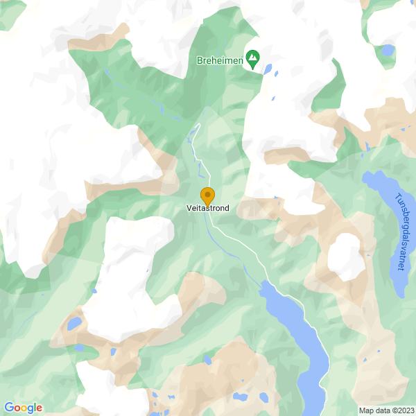 Google Map of 61.5047981,6.98581379999996