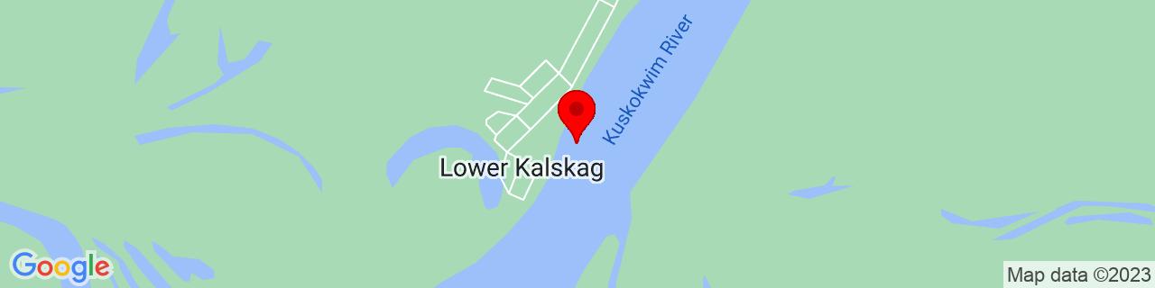 Google Map of 61.5122222, -160.3580556