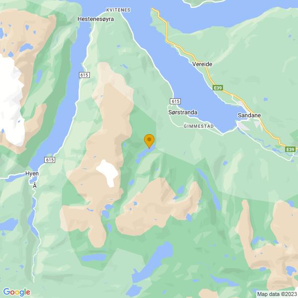 Google Map of 61.7543726,6.0777968