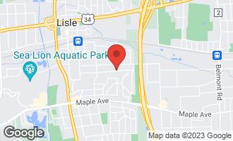Map of 610 Gamble 3 Drive LISLE, IL 60532