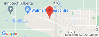 Google Map of 6106++50+Avenue%2CVegreville%2CAlberta+T9C+1N6