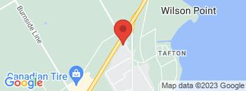 Google Map of 611+Sundial+Drive%2COrillia%2COntario+L3V+6V7