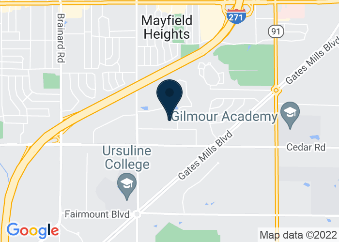 Map of 6111 Landerhaven Drive, Mayfield Heights, OH 44124, United States