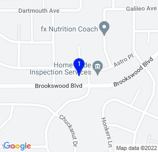 Google Map of 61115 Parkwood Ct Bend, OR 97702 U.S.A.