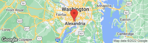 Map of 6118 VERNON TERRACE ALEXANDRIA, VA 22307