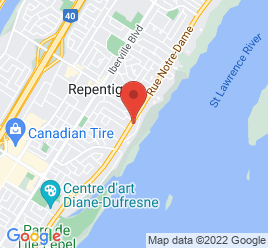 Google Map of 612+Rue+Notre+Dame%2CRepentigny%2CQuebec+J6A+2T9