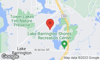 Map of 612 North Shoreline Road B LAKE BARRINGTON, IL 60010