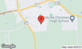 Map of 612 Windett Ridge Road YORKVILLE, IL 60560