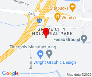 Google Map of 6137 Enterprise Pkwy Grove City, OH 43123