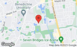 Map of 6138 Dixon Drive LISLE, IL 60532