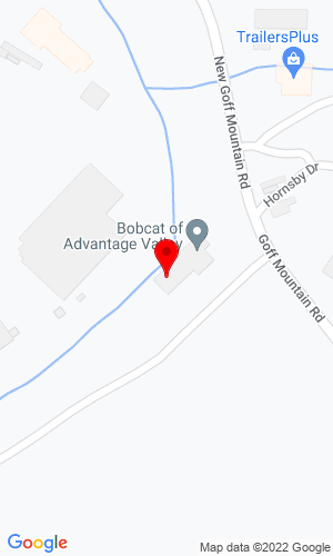 Google Map of Bobcat of Advantage Valley 614 Goff Mountain Road, Cross Lanes, WV, 25313