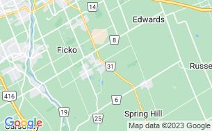 Map of Ottawa's Poplar Grove Campground/RV Park