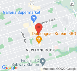 Google Map of 6167+Yonge+Street%2CToronto%2COntario+M2M+3X2