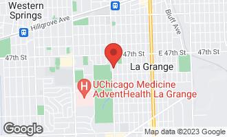 Map of 619 South Brainard Avenue LA GRANGE, IL 60525