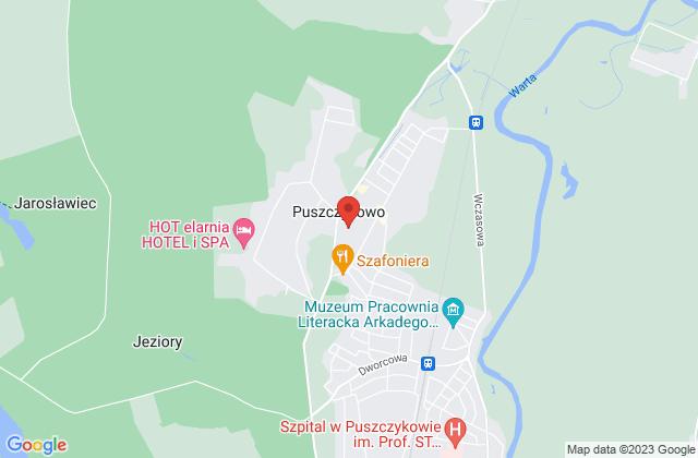 Wyświetl Aneta Wyrzykiewicz,AnMa Aneta Wyrzykiewicz na mapie