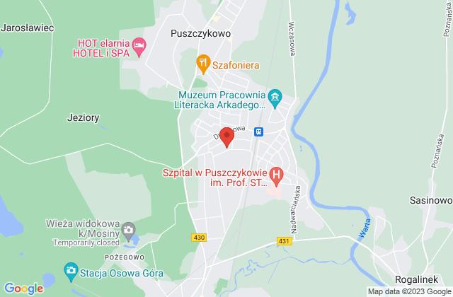 Wyświetl Małgorzata Obst,PROB Biuro Handlowe na mapie