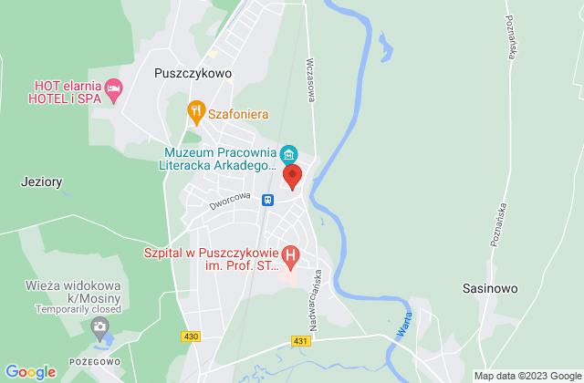 Wyświetl Mariusz Dobieżyński,EMDE Zakład Elektroniczny Mariusz Dobieżyński na mapie