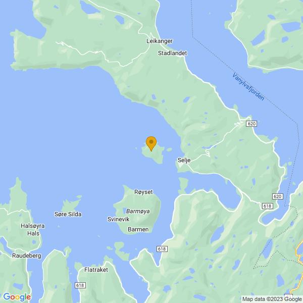 Google Map of 62.0493457,5.3048851