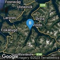 Lagekarte von Lauvstad