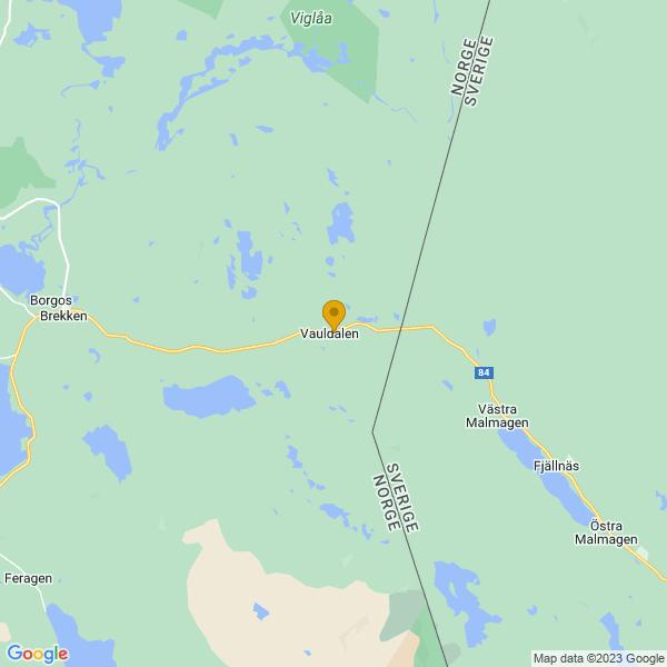 Google Map of 62.6401939,12.0320897