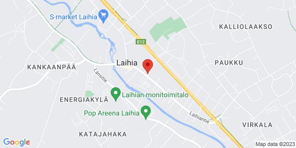 Kartta: Laihiantie 29, Laihia