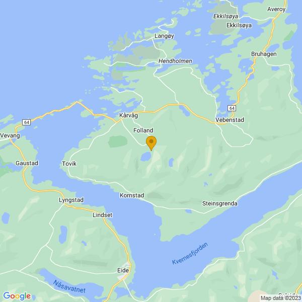 Google Map of 62.991743,7.4783699
