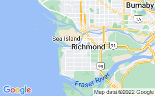 Map of Richmond RV Park Campground