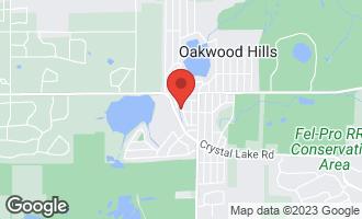 Map of 6207 Lake Shore Drive CARY, IL 60013