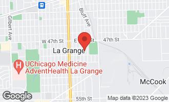 Map of 621 9th Avenue LA GRANGE, IL 60525