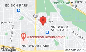 Map of 6215 North Nordica Avenue CHICAGO, IL 60631