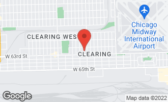 Map of 6229 South Mcvicker Avenue CHICAGO, IL 60638